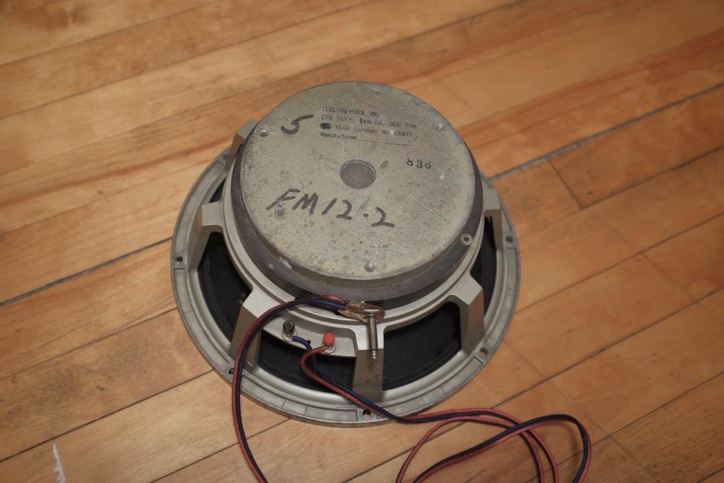 EVM 12L speaker