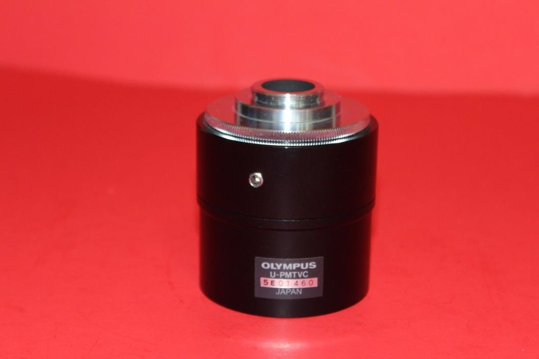 OLYMPUS MICROSCOPE U-PMTVC CAMERA ADAPTER C-MOUNT / MAY BE USED FOR MTV-3