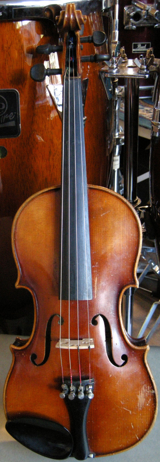 1966 E.R. Pfretzschner Model 3011 Intermediate Violin--Bow and Case Not Included