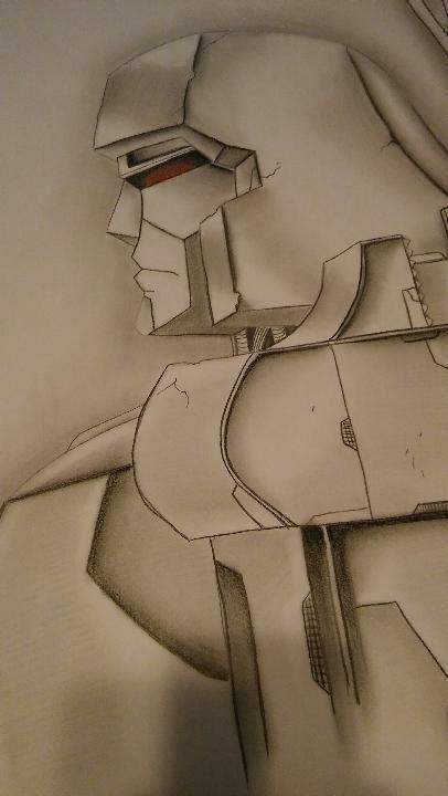 Custom Commission Original Art Marker Sketch Drawing