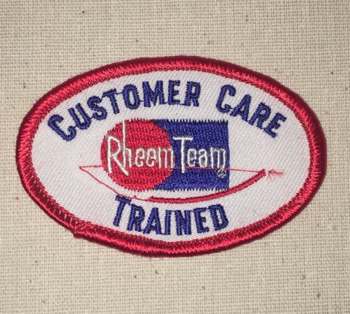 Rheem Team Patch - Customer Care Trained