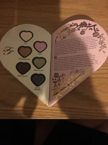 TOO FACED X KAT VON D Better Together  Heart  Palette TOO FACED ONLY nwob
