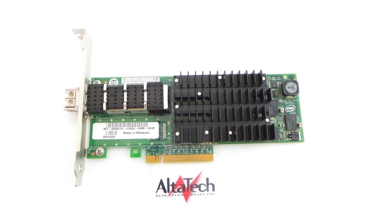 Dell RN219 Intel Single Port 10GB SR PCI-E Optical Network Card - Fast Free Ship