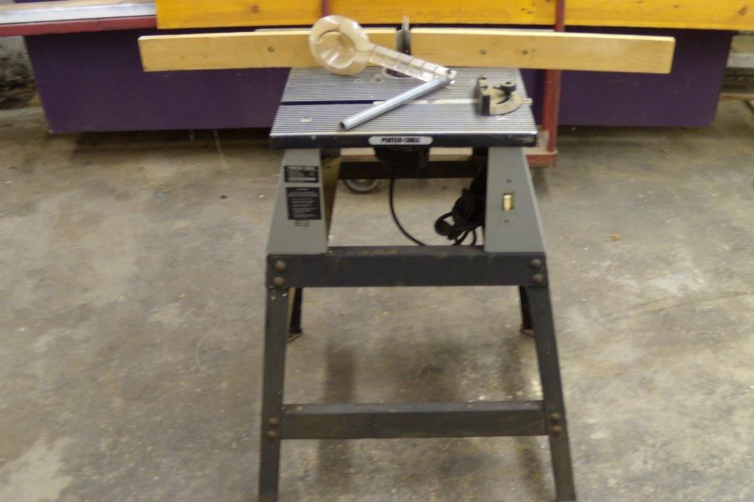 Porter cable router table for sale classifieds porter cable router table model 696 and router model 6912 greentooth Gallery