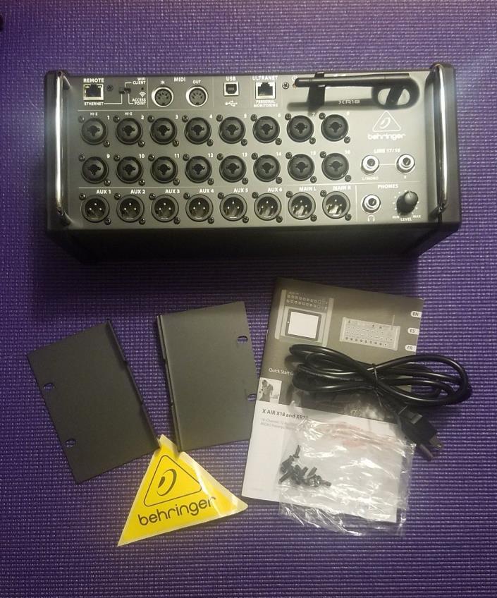 Behringer XR18XAIR Mixer -LIKE NEW IN ORIGINAL BOX