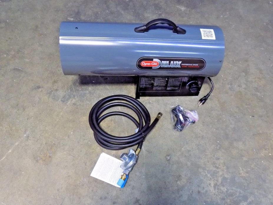 GHP Group Propane Forced Air Heater 10 to 125,000 BTU Rating RMC-FA125DGD