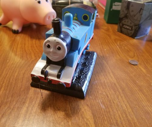 Thomas the Train Engine Plastic vintage bank