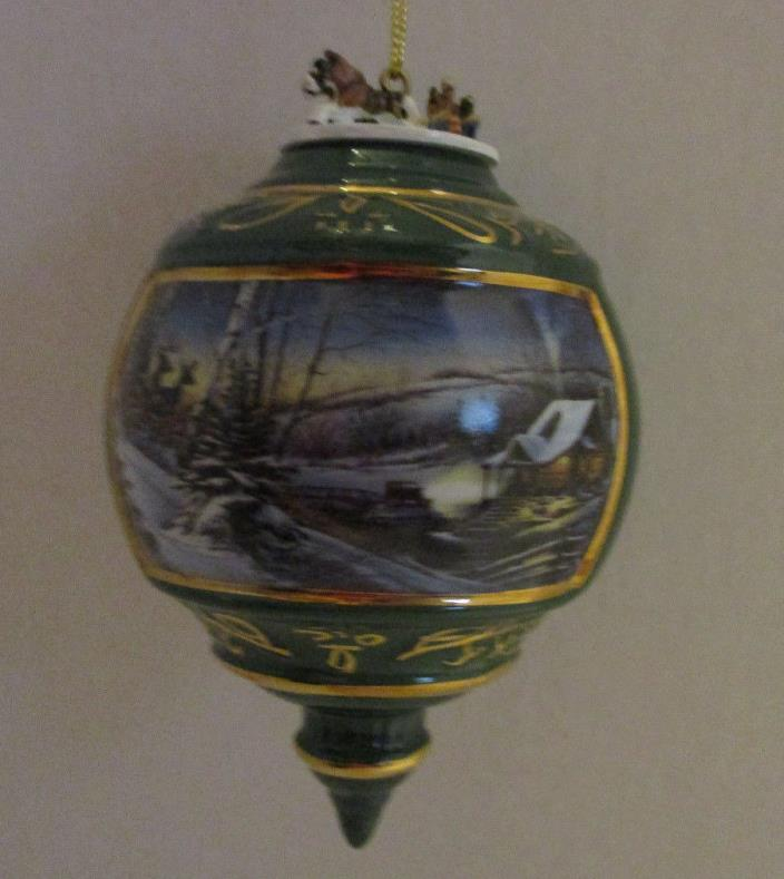 Christmas Ornament Terry Redlin Heirloom Evening with Friends Hadley Collection
