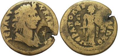 FORVM Hierapolis Phrygia AE25 Senate/ Apollo Kitharoedos Very Rare