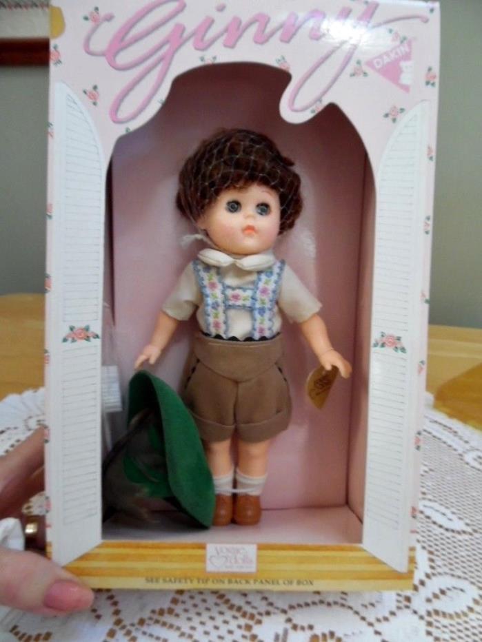 Vintage Vogue 1984 Ginny Boy Hansel Doll in Original Box ~ EUC