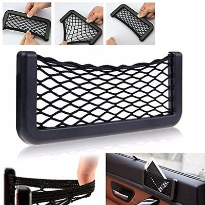Suv Truck Car Van Pocket Storage Mesh Net Bag Organizer Phone Gadget Holder