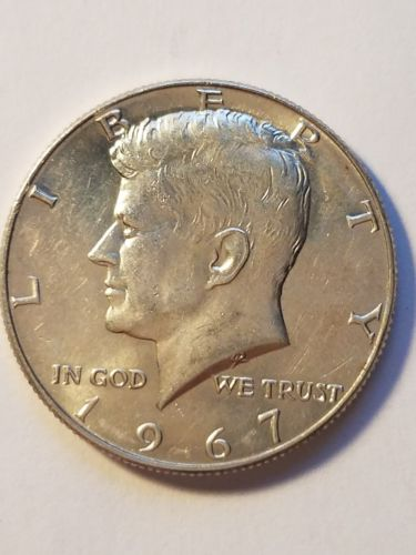 1967 Kennedy half dollar BU UNCIRCULATED FROM ROLL  (1 COIN)