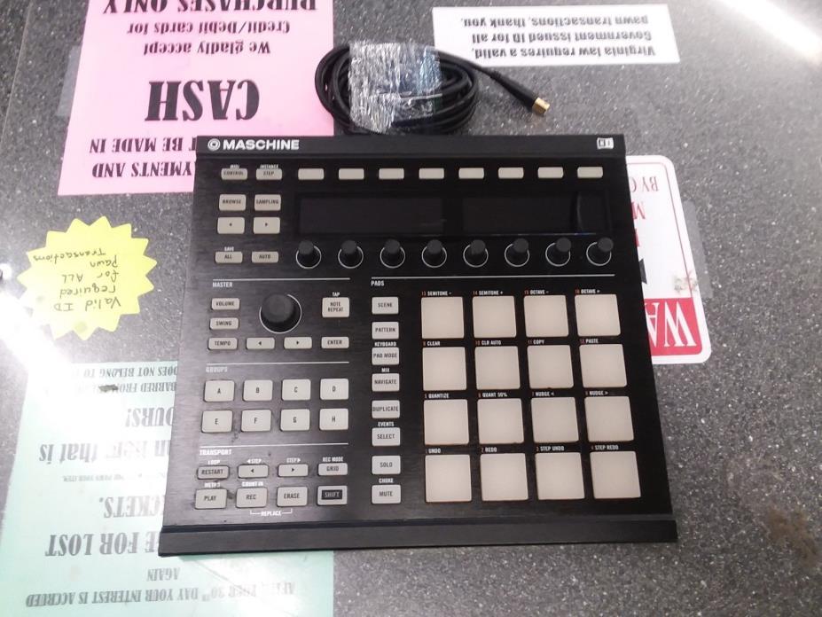 Native Instruments Maschine MK2 Groove Production Studio Black FREE SHIPPING