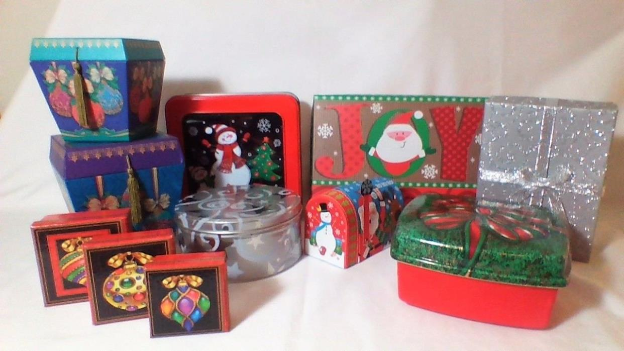 CHRISTMAS, HOLIDAY, GIFT BOX, BOXES, CONTAINERS