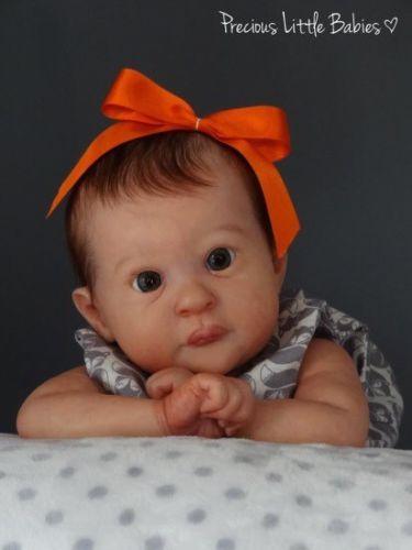 """Mackenzie Reborn Doll Kit By Jessica Schenk - Blank With Body 18"""""""