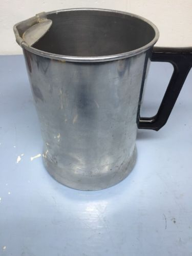 Vintage Aluminum Ice Water Or Lemon Aid Pitcher  Good Condition