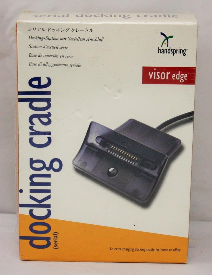 Handspring Serial Docking Cradle ~ Visor Edge ~ NEW FACTORY SEALED