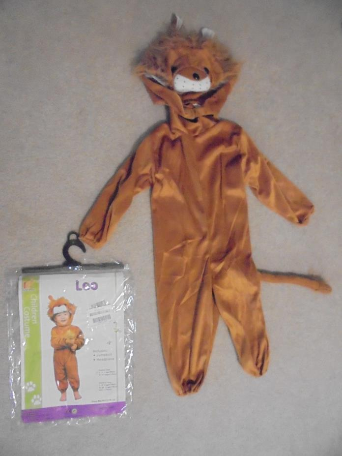 RoarSoar Pretend Play Leo Lion Costume (age 1 to 3) Small OO3