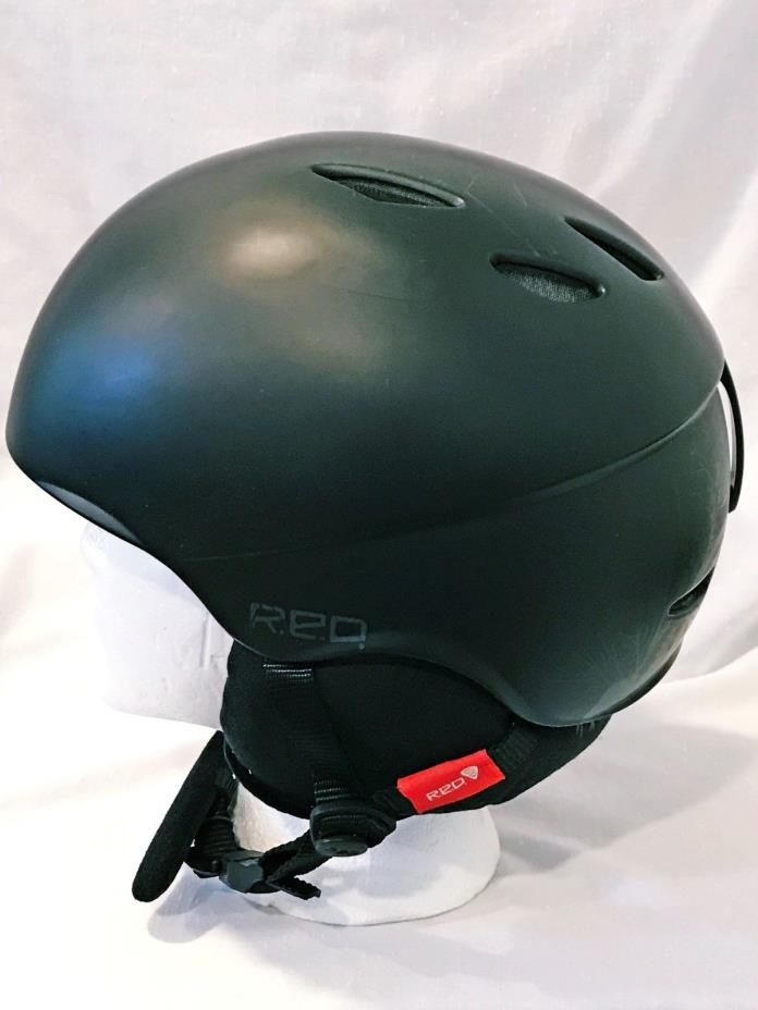 Giro Fuse Ski Helmet Black R.E.D. Hi Fi II  Size Medium
