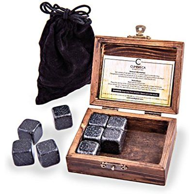 Cumbreca Whiskey Stones Granite Drinking Rocks For Chilling Your Wine
