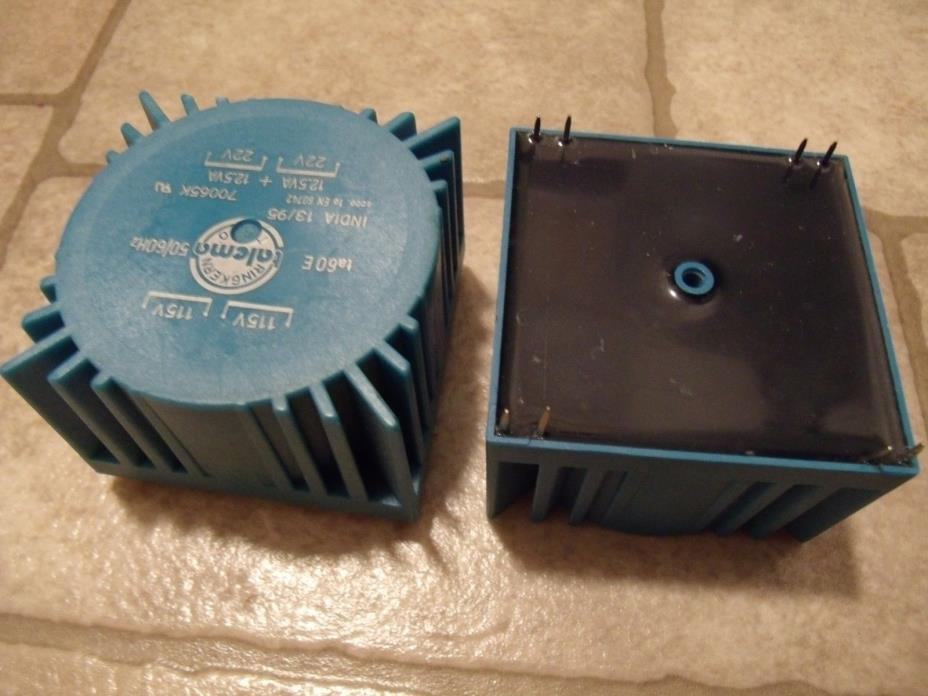 Two 12.5 VA 22V Secondaries - Talema 70065K PCB Mount Torroidal Transformer