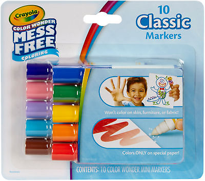 Crayola Color Wonder Mini Markers - NOTM086272