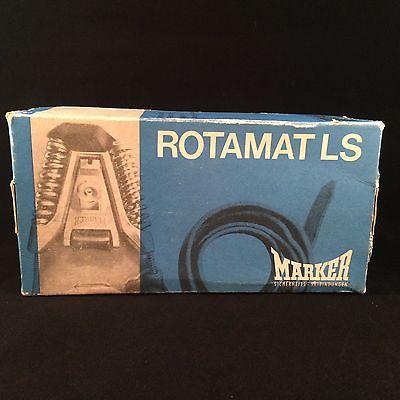 Vintage Marker Rotamat LS Skibinding Empty Advertising Box German Skibindunger