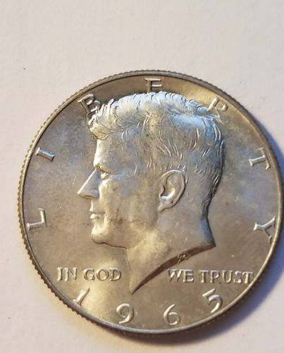 1965  Kennedy half dollar BU UNCIRCULATED FROM ROLL  (1 COIN)