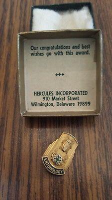 4H Entomology Vintage Lapel Pin