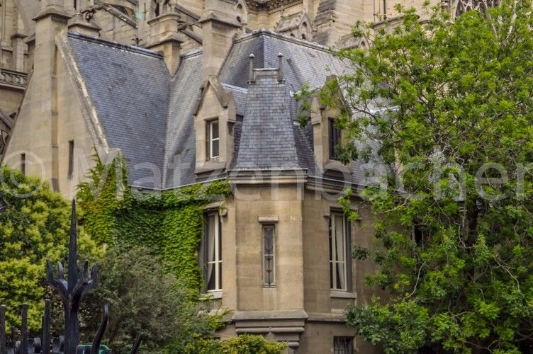 Photo Digital French Architecture Background Free Shipping