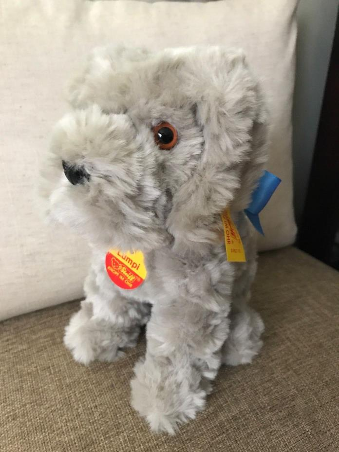 Steiff #078170 Lumpi Hund Dog NWT