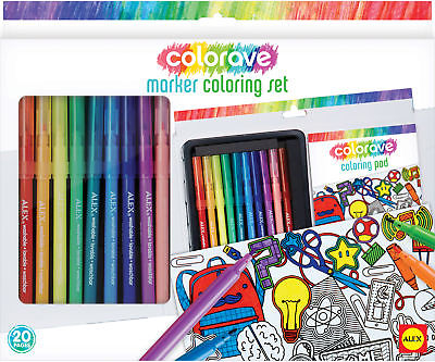 Colorave Marker Coloring Set - NOTM498606