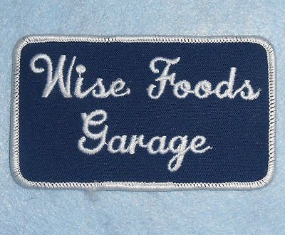 Wise Foods Garage Patch - truck driver - 4 1/4