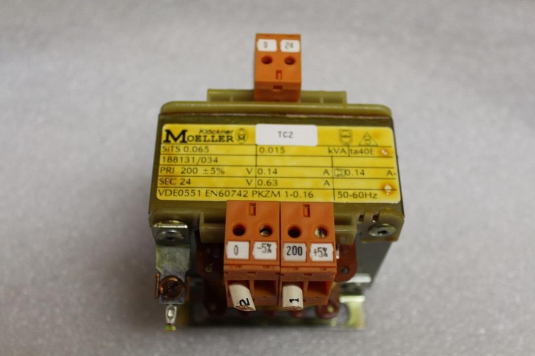 Klockner Moeller Transformer SiTS 0.065   0.015 Kva