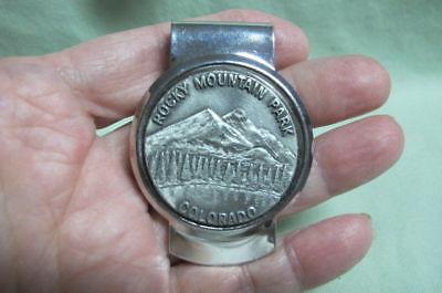 Vintage Money Clip Rocky Mountain Park Colorado
