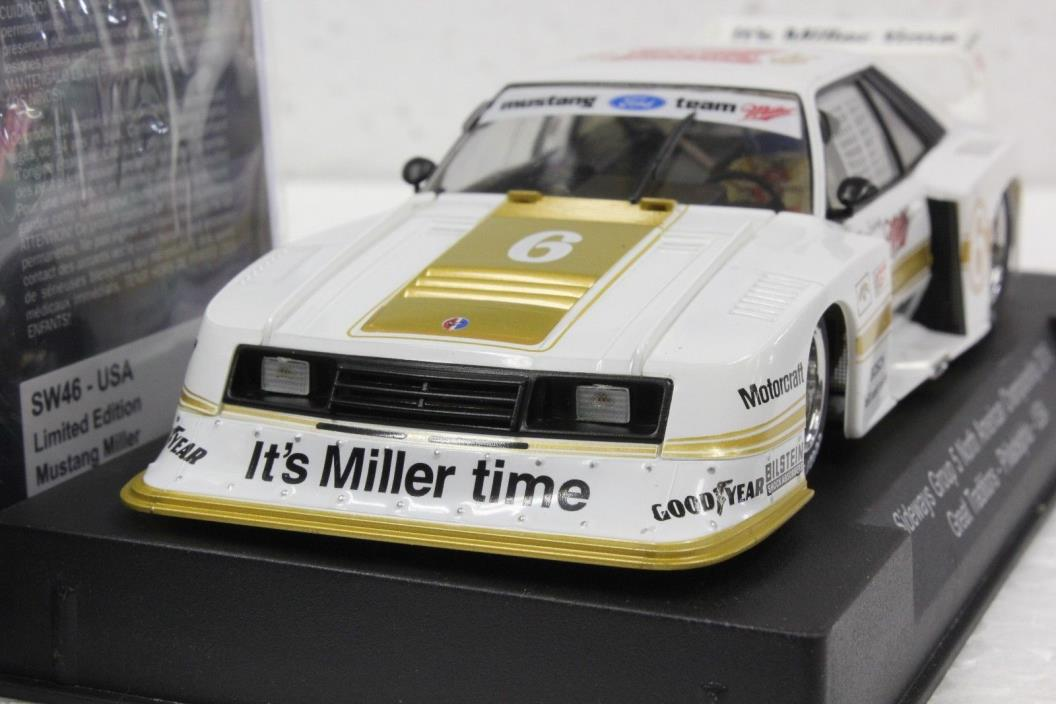 SIDEWAYS SW46SP FORD MUSTANG TURBO GROUP 5 N.A. CHAMPIONSHIP NEW 1/32 LT. ED.
