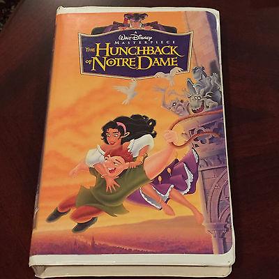 Disney's Masterpiece  The Hunchback of Notre Dame  Disney Movie VHS VCR