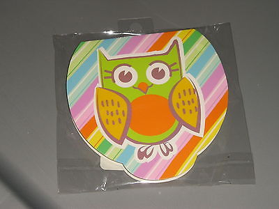 Owl Notepad. VERY CUTE. Brand New. Great Gift for any OWL Lover !! Colorful