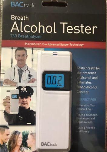 BACTRACK ALCOHOL TESTER T60 BREATHALYZER