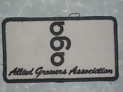 AGA Patch - Allied Growers Association - Truck Driver  4 1/2