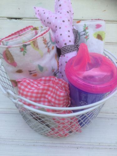 Baby Girl Gift Basket, Welcome New Baby Gift