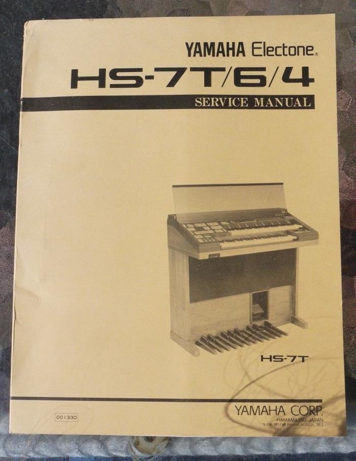 Yamaha Electone HS-7T/6/4  SERVICE Manual