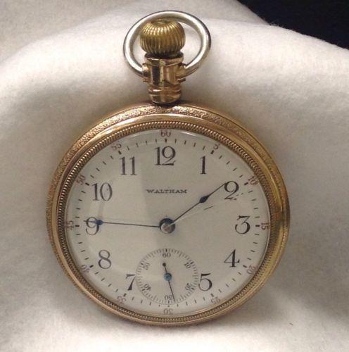 Waltham Pocket Watch Serial #{13334631} 17 Jewel