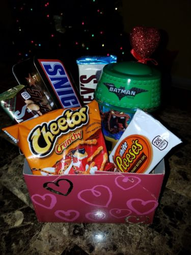 Valentine's Day Gift Box Basket For Kids
