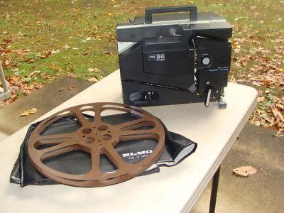 Elmo 16-CL Optical Channel Loading Projector For 16mm Film w/ Reel Goldberg