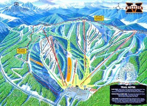 Monarch Mountain Ski/Snowboard Colorado ADULT Lift Ticket   ***SAVE $35***