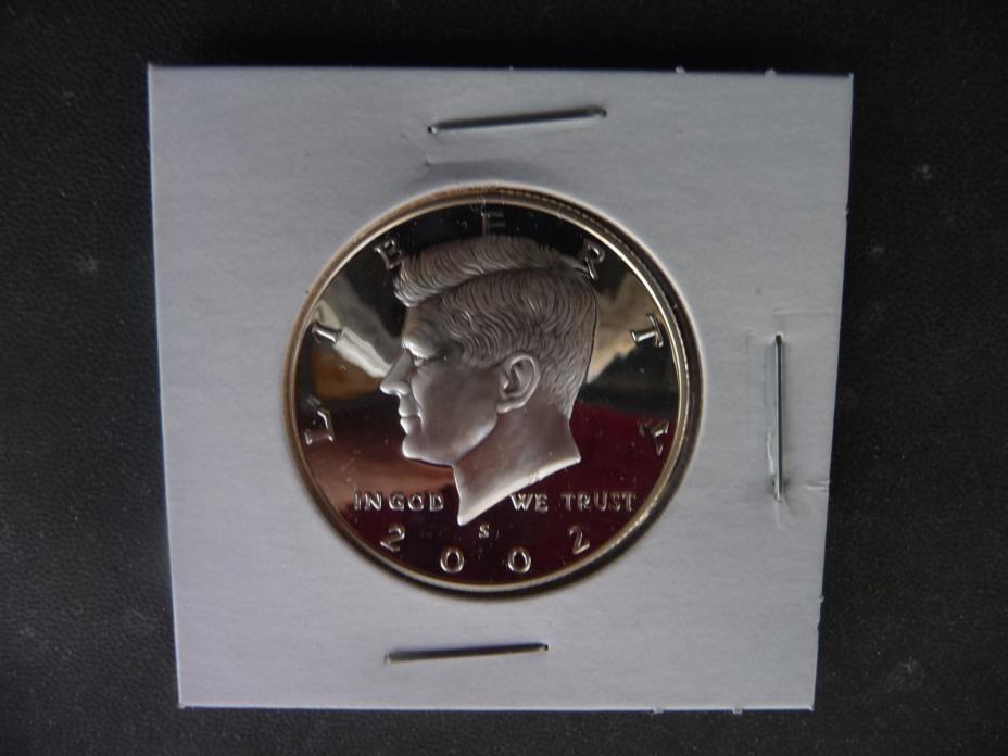 2002 s 90% silver proof Kennedy half dollar *
