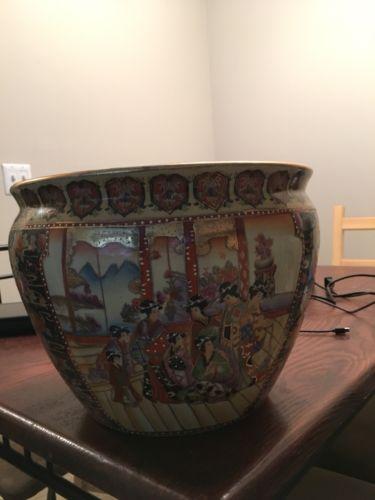 Royal Satsuma Large Vase, 12 Inches.