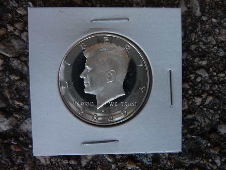 2009 s 90% silver proof Kennedy half dollar *