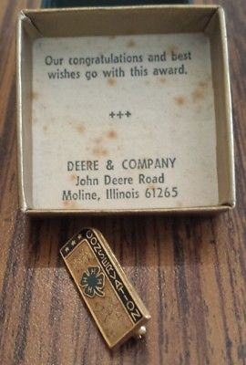 4H Conservation Vintage Lapel Pin/Tie Tack gift